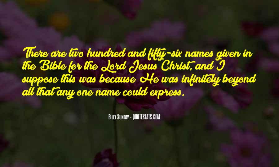 A Hundred Names Quotes #910404