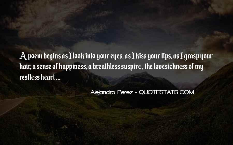 A Kiss Poem Quotes #1312119