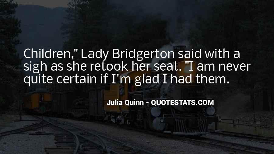 A Lady Never Quotes #161589