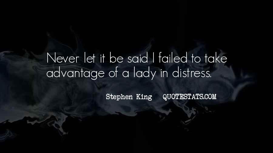A Lady Never Quotes #757209