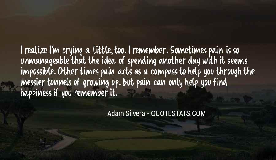 A Little Happiness Quotes #109208
