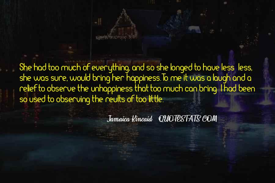 A Little Happiness Quotes #153523