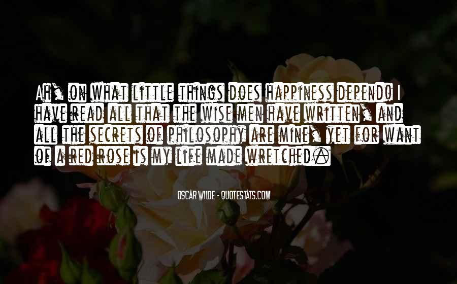 A Little Happiness Quotes #287104