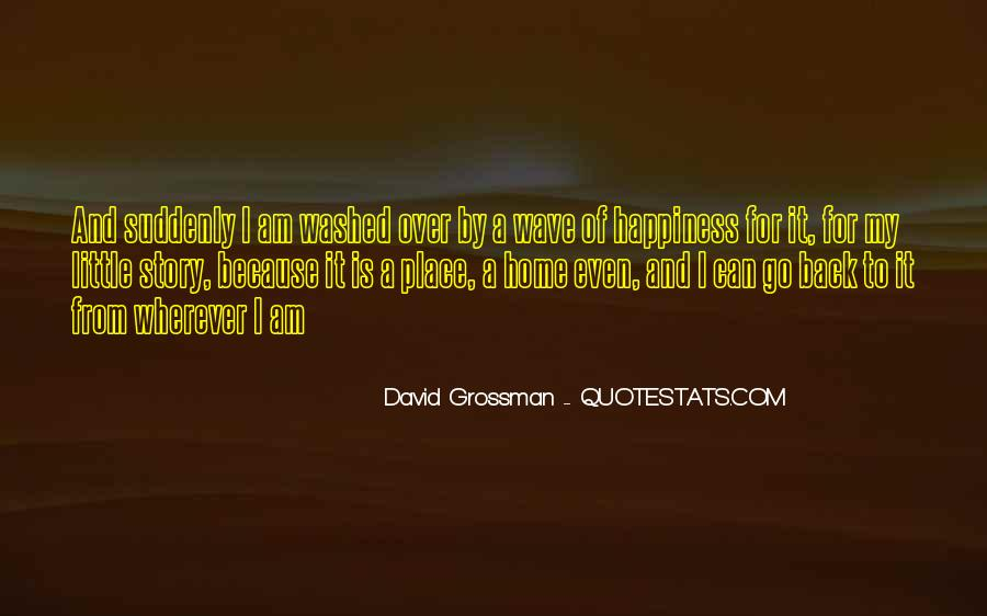 A Little Happiness Quotes #376435