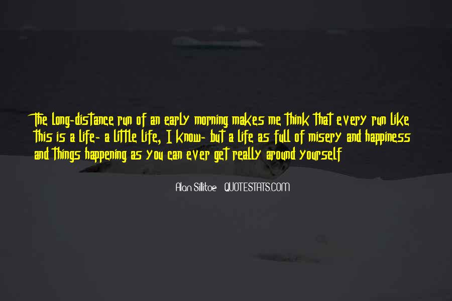 A Little Happiness Quotes #441089