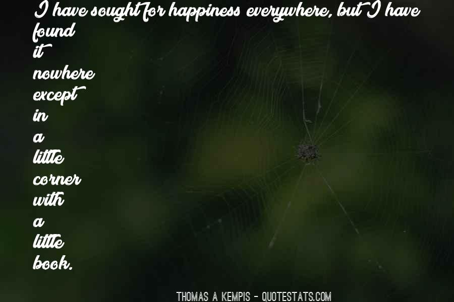 A Little Happiness Quotes #445666