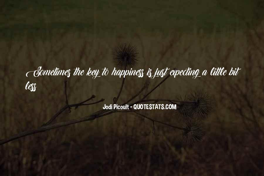 A Little Happiness Quotes #635070