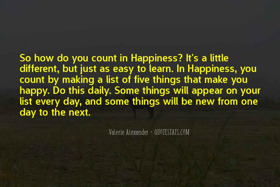 A Little Happiness Quotes #695293