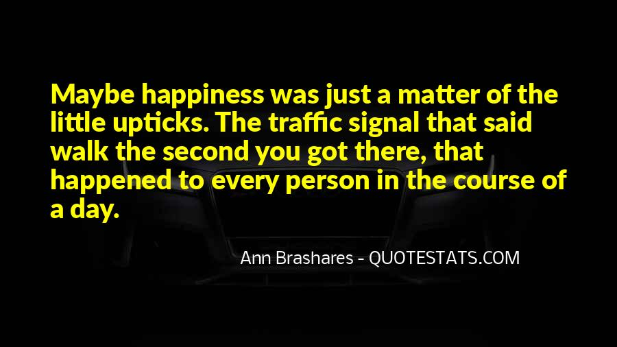A Little Happiness Quotes #824065