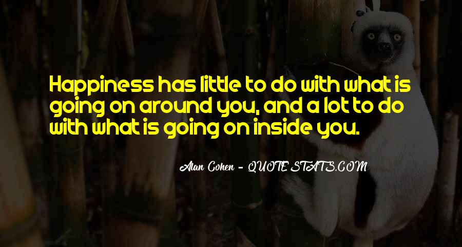 A Little Happiness Quotes #912399