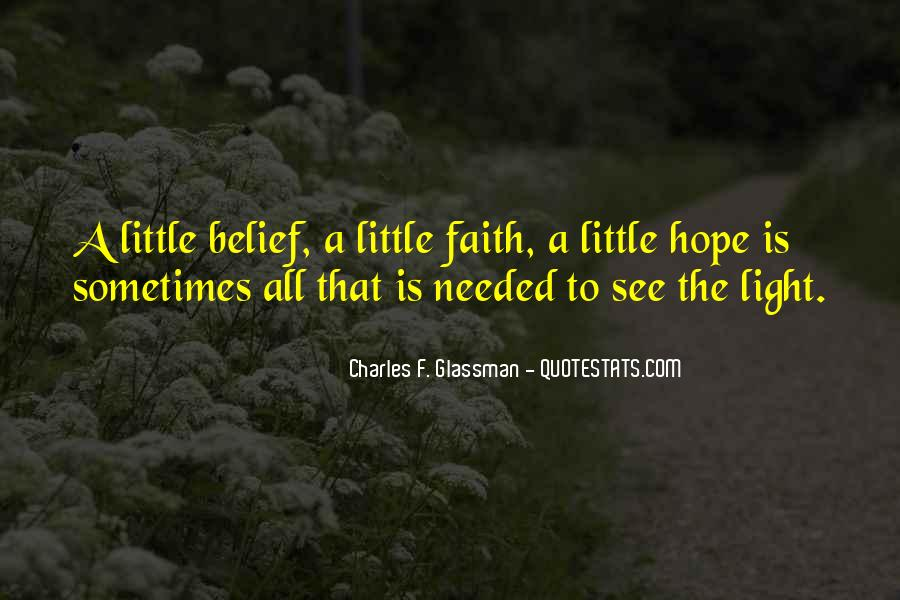 A Little Light Quotes #540322