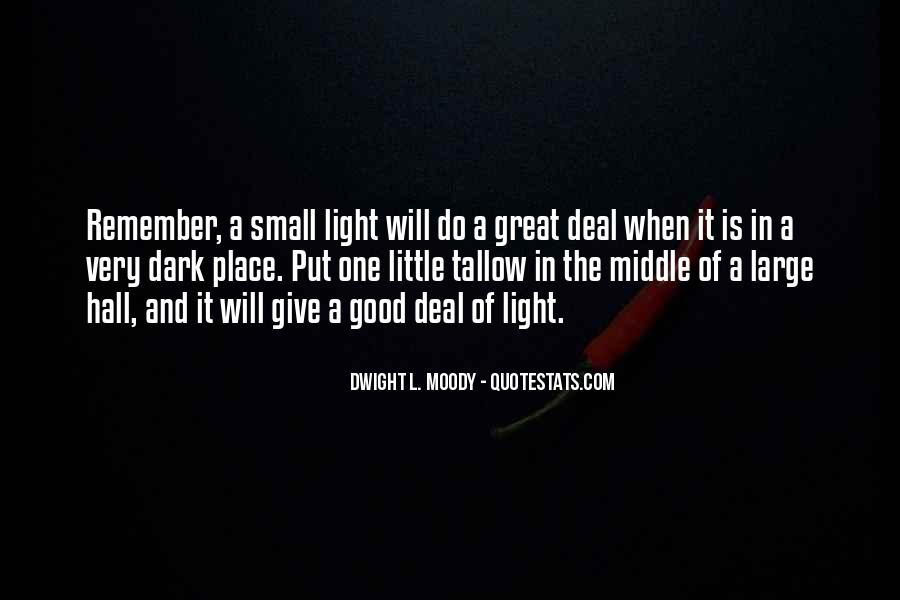 A Little Light Quotes #579881