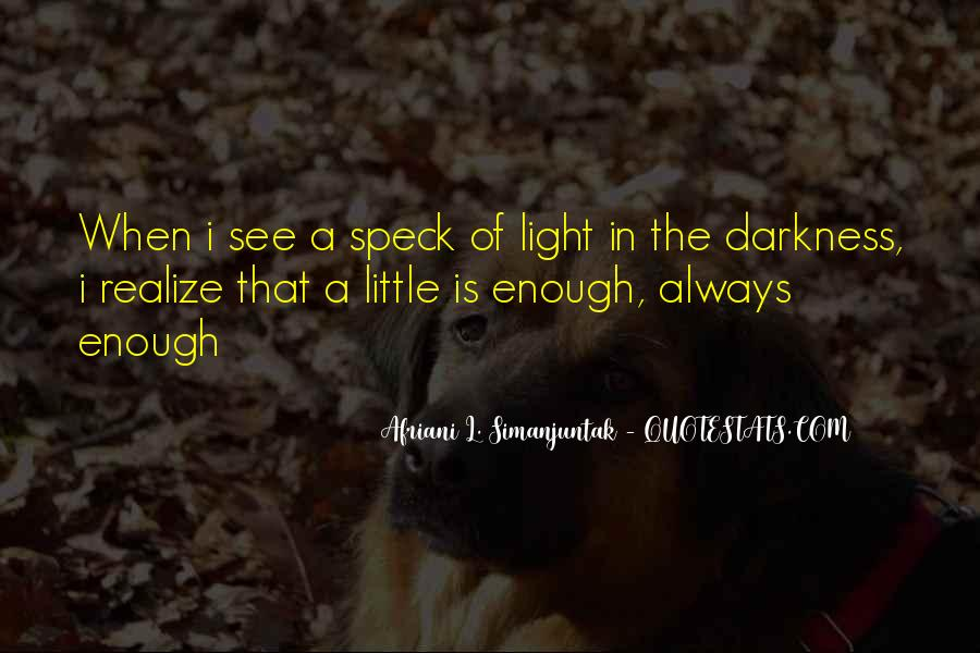 A Little Light Quotes #672572