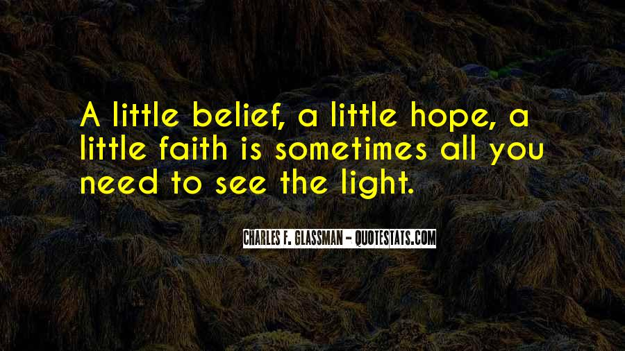 A Little Light Quotes #714940
