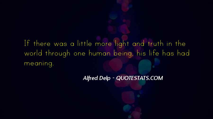 A Little Light Quotes #78592