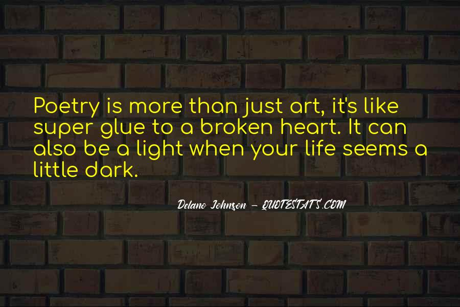 A Little Light Quotes #9472