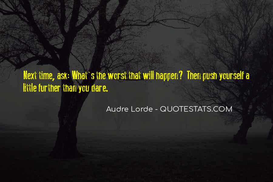 A Little Push Quotes #1590205