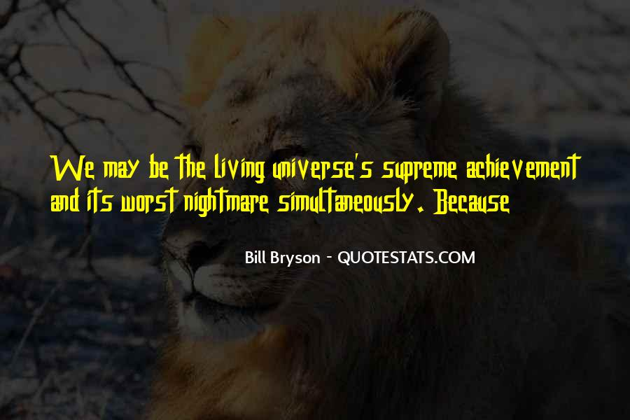 A Living Nightmare Quotes #25687