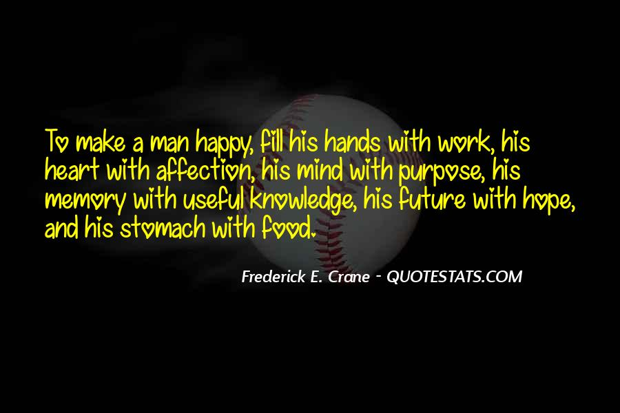 A Man Heart Quotes #101796
