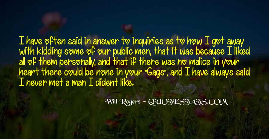 A Man Heart Quotes #103142