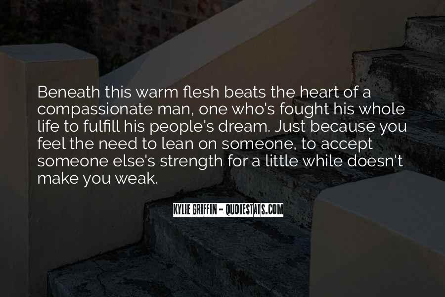 A Man Heart Quotes #105855