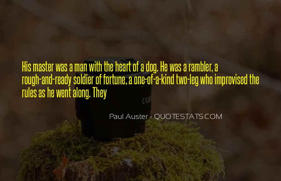 A Man Heart Quotes #16662