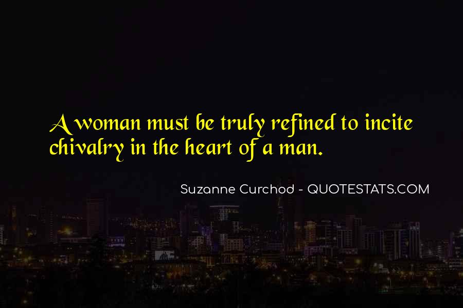 A Man Heart Quotes #21232