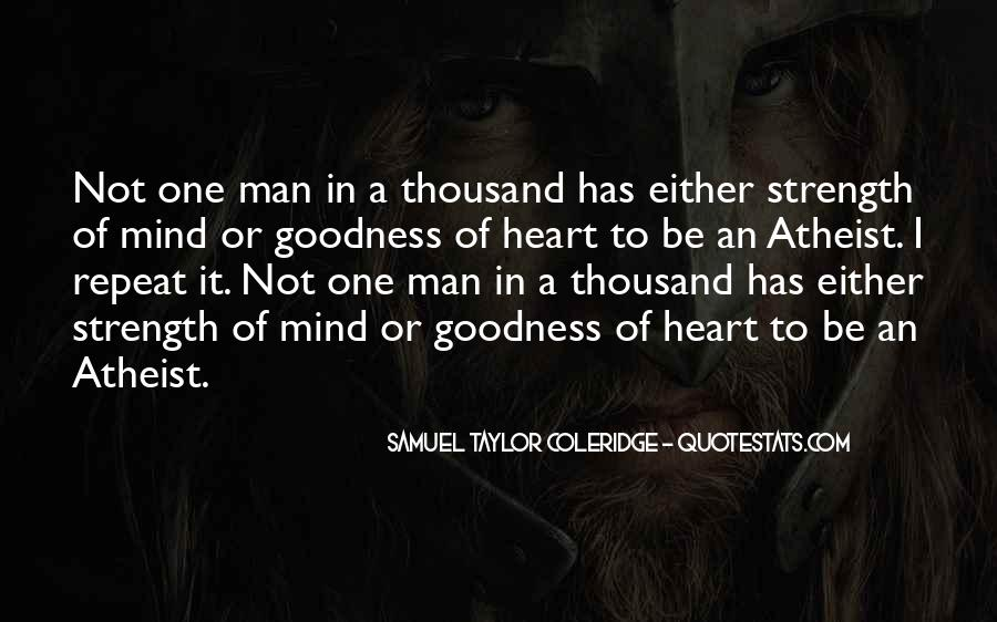 A Man Heart Quotes #30137