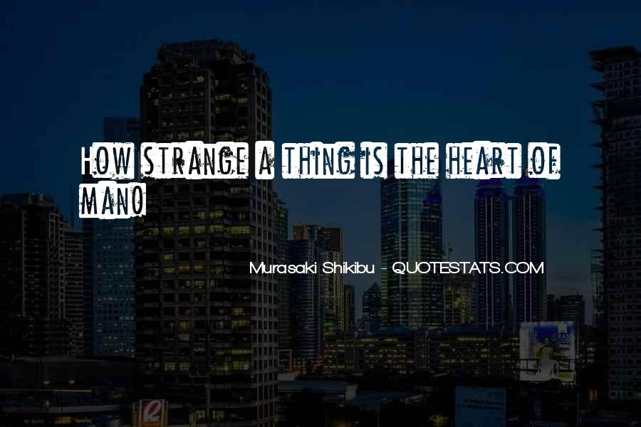A Man Heart Quotes #33789