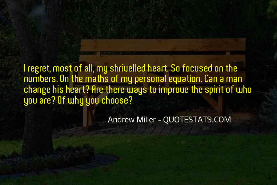A Man Heart Quotes #34000