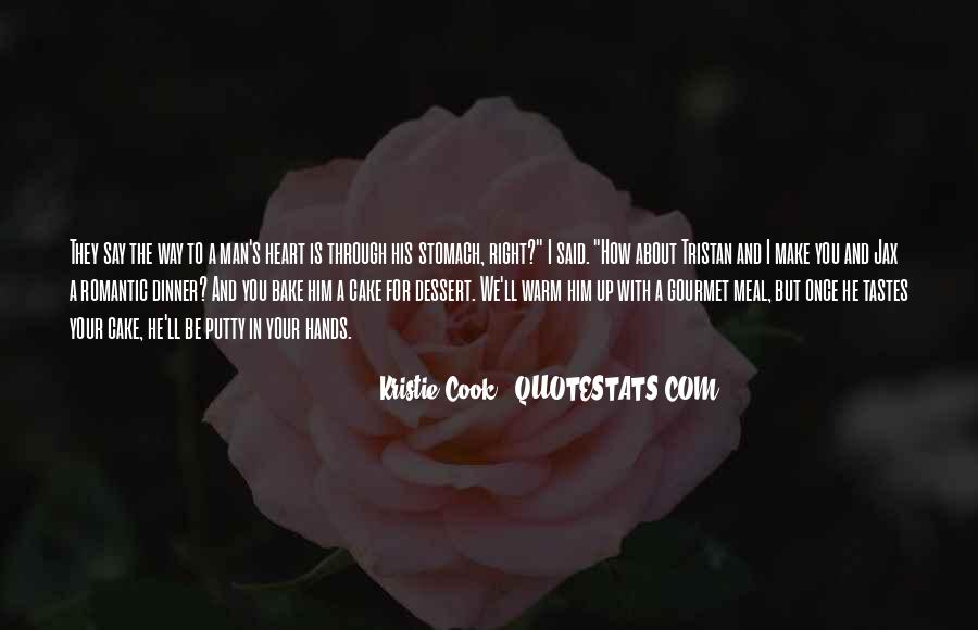 A Man Heart Quotes #35967