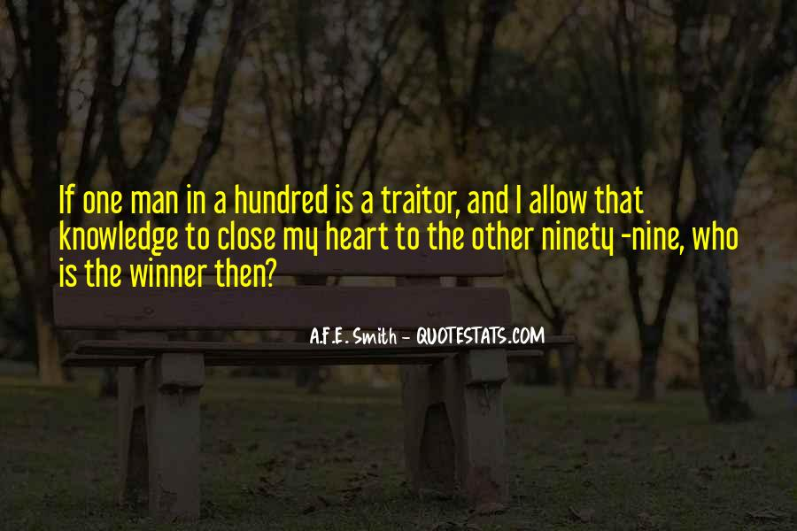 A Man Heart Quotes #38160