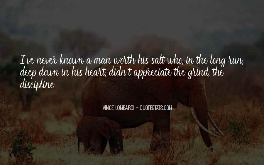 A Man Heart Quotes #45329