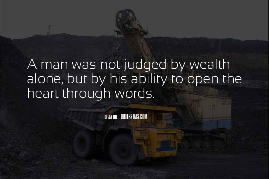 A Man Heart Quotes #48473