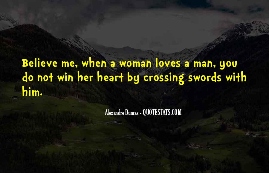 A Man Heart Quotes #56086