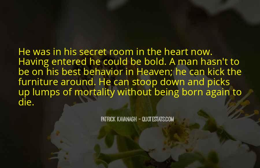 A Man Heart Quotes #57544