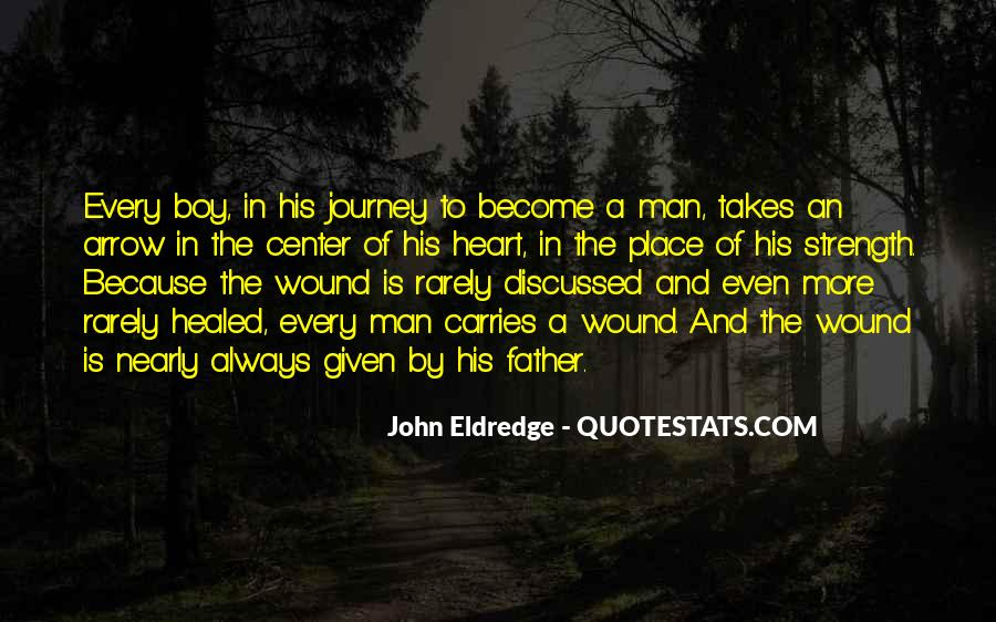 A Man Heart Quotes #66692