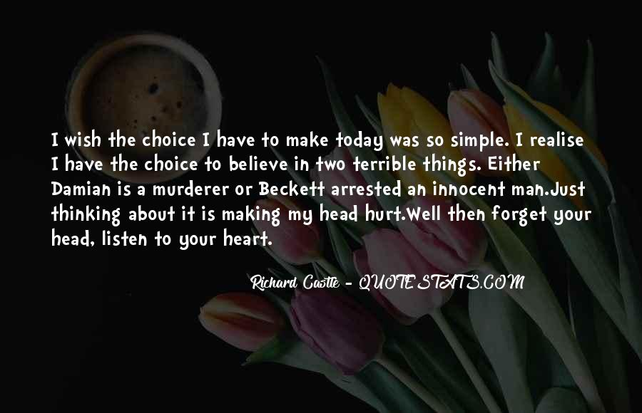 A Man Heart Quotes #73431