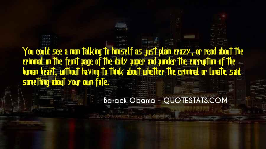 A Man Heart Quotes #74438