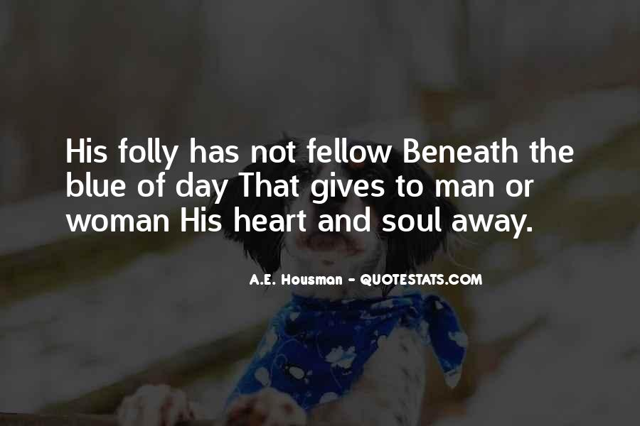 A Man Heart Quotes #76687