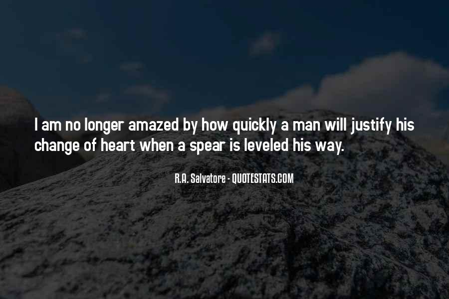 A Man Heart Quotes #80123