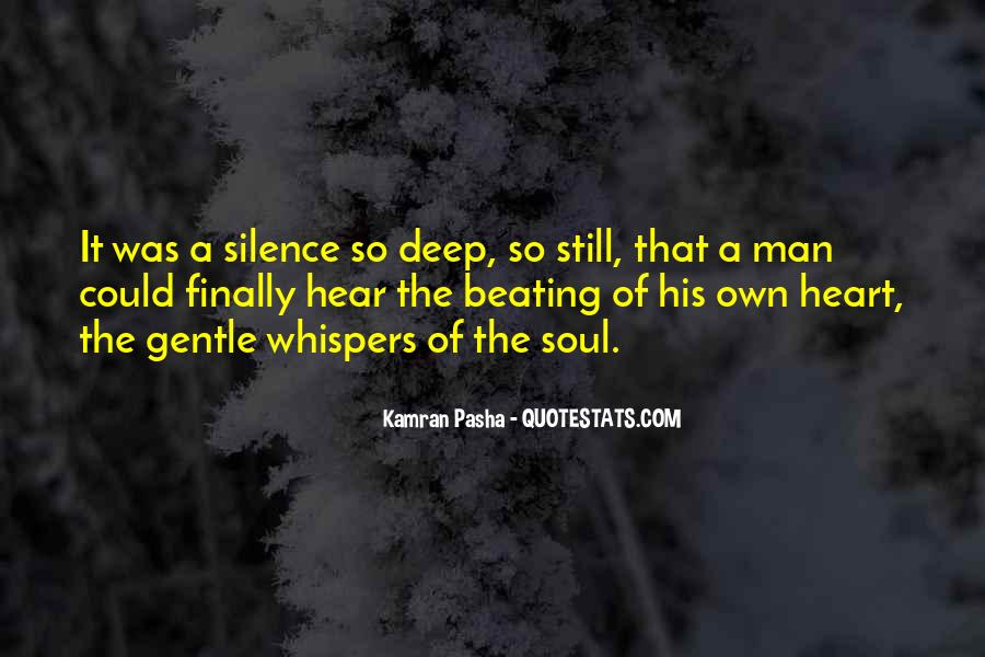 A Man Heart Quotes #8400