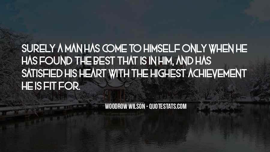 A Man Heart Quotes #89549
