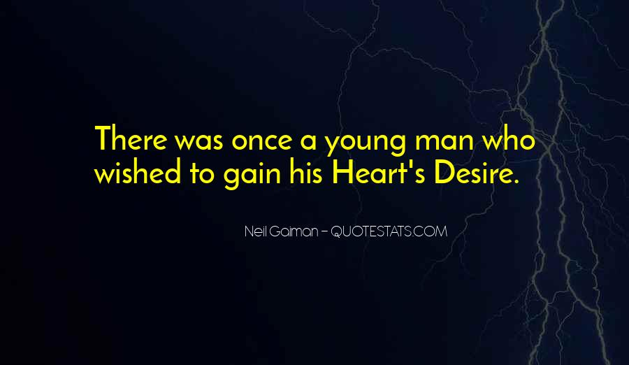 A Man Heart Quotes #91008