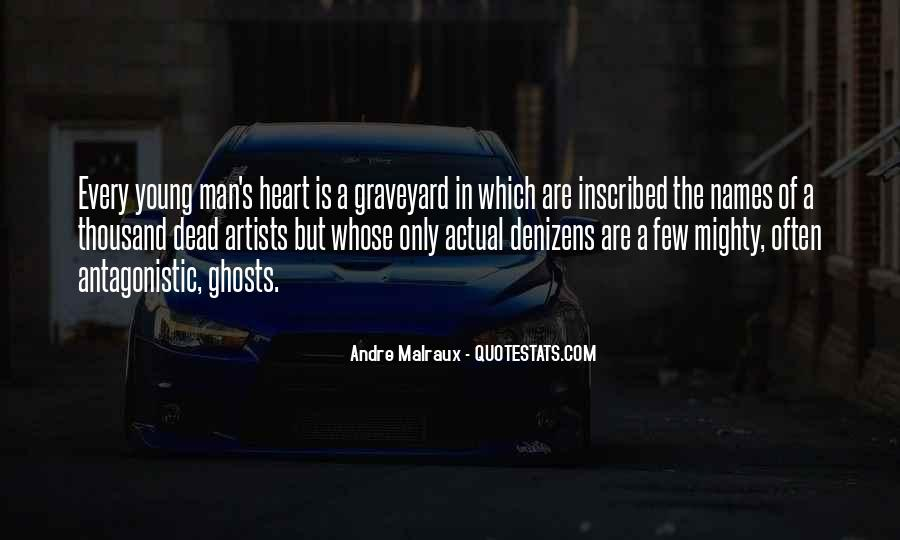 A Man Heart Quotes #99063