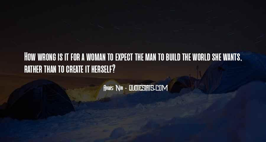 A Man Wants A Woman Quotes #1386366