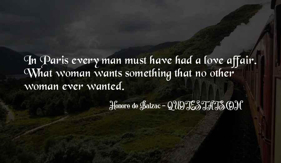 A Man Wants A Woman Quotes #1601470