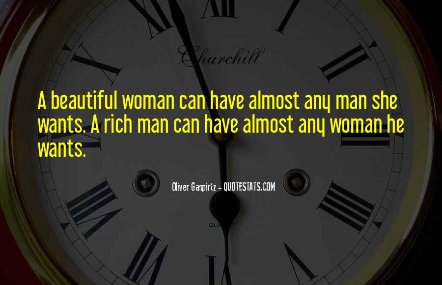 A Man Wants A Woman Quotes #910459