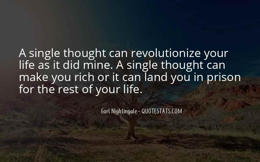 A Rich Life Quotes #110801