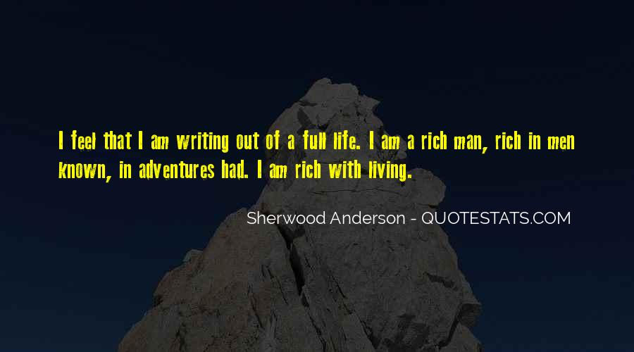 A Rich Life Quotes #221310